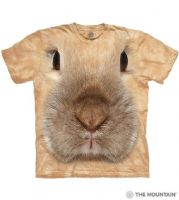 Bunny Face T-shirt | Big Face Animal T-shirts | The Mountain®